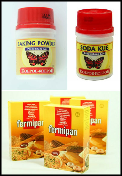 baking powder soda fermipan